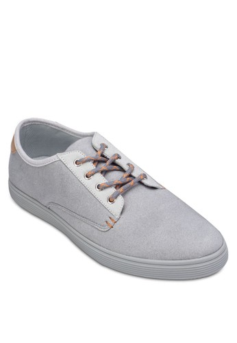 Mixezalora開箱d Material Lace Up Sneakers, 鞋, 鞋