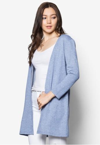Lovzalora退貨e 拼接開襟外套, 服飾, 服飾
