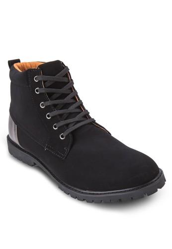 軍風中zalora開箱筒靴, 鞋, 鞋
