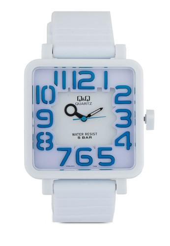 VR06J001Y 方框數字手錶, zalora鞋錶類, 其它錶帶
