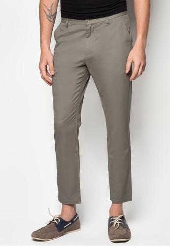 基本款棉質休閒長zalora開箱褲, 服飾, 窄管褲