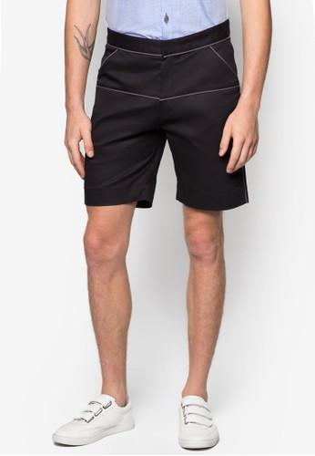 滾邊青年zalora 評價休閒短褲, 服飾, 短褲