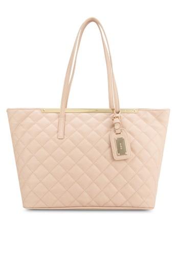 Crabapple 菱格手提托特包, 包,zalora 鞋評價 飾品配件