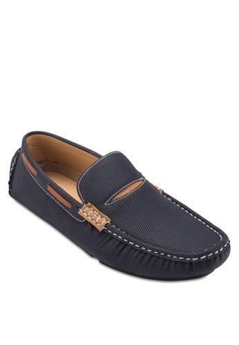 撞色飾帶樂福鞋, 鞋, 船zalora 鞋評價型鞋