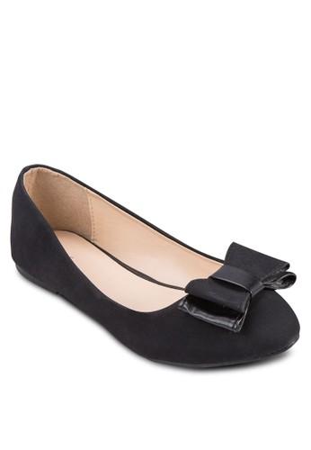 蝴蝶結zalora退貨基本款平底鞋, 女鞋, 鞋
