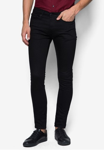 彈力窄管牛仔zalora 台灣褲, 服飾, 緊身牛仔褲