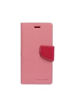 Mercury Goospery Fancy Diary for LG G Optimus Pro Case - Pink/Hot…