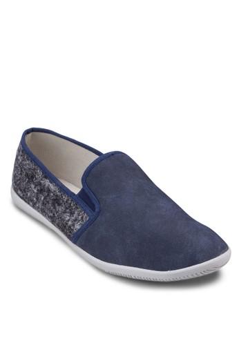 異材質拼zalora鞋接懶人鞋, 鞋, 男鞋
