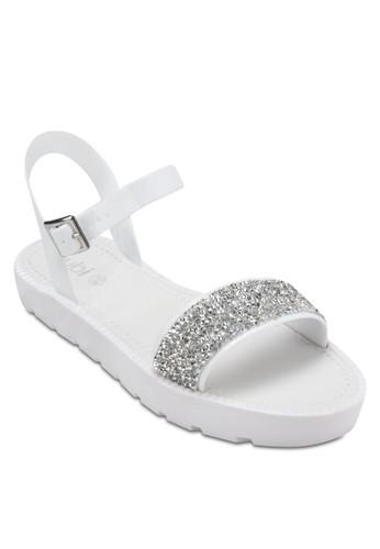 Moss Jelly zalora鞋子評價Sandals, 女鞋, 涼鞋