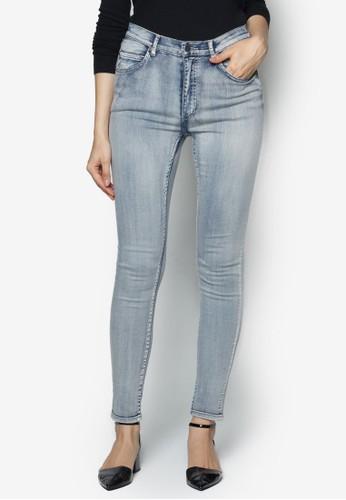 貼身高腰牛仔褲zalora 心得, 服飾, 牛仔褲