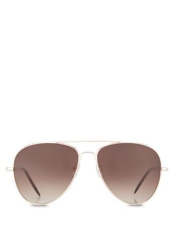 Bovedo 飛行員太陽眼鏡, 飾品配件, 飛zalora退貨行員框