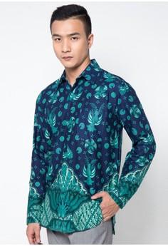 Baju Batik Pria Lengan Panjang Terkini