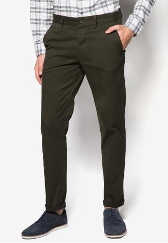 簡約修身休閒長褲, 服zalora退貨飾, 服飾