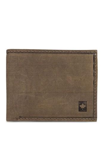 Lumzalora 心得berjacks 暗紋對折皮夾, 飾品配件, 包