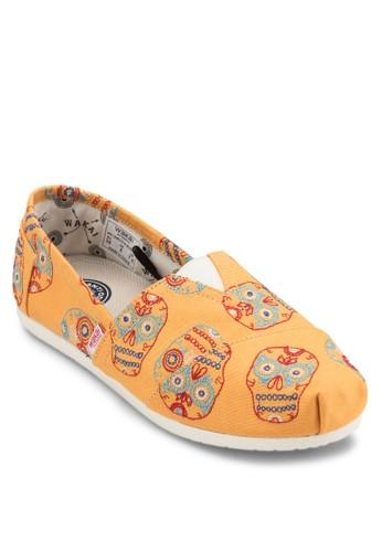 MUERTE 圖案造zalora鞋子評價型懶人鞋, 女鞋, 鞋