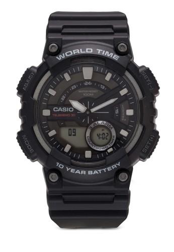 AEQ-zalora 心得110W-2AVDF 防水運動電子錶, 錶類, 其它錶帶