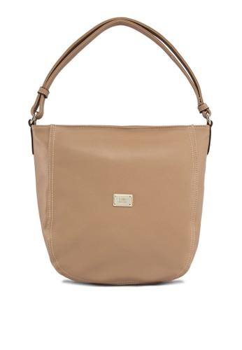 PU 單提把手zalora鞋提包, 包, 飾品配件