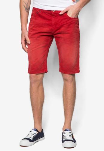 水洗牛仔短褲, 服飾,zalora開箱 短褲