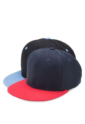二入雙色鴨舌帽,zalora 台灣 飾品配件, 飾品配件