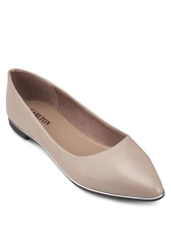 經典帆布尖頭平底zalora退貨鞋, 女鞋, 鞋
