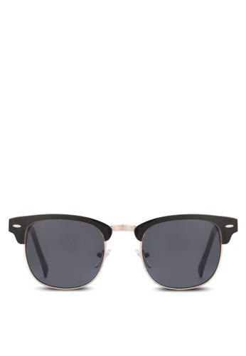 Oayth 半zalora鞋框太陽眼鏡, 飾品配件, 飾品配件