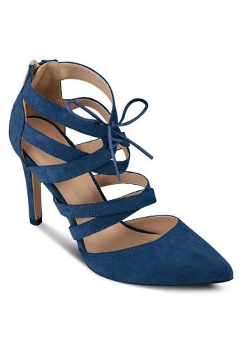 羅馬尖zalora鞋子評價頭高跟涼鞋, 女鞋, 厚底高跟鞋