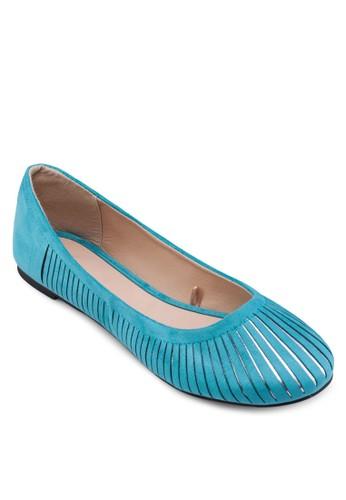 雙色鏤空娃娃鞋, 女鞋, zalora 手錶厚底鞋