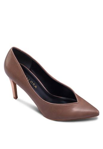 簡約尖頭高zalora 鞋評價跟鞋, 女鞋, 厚底高跟鞋