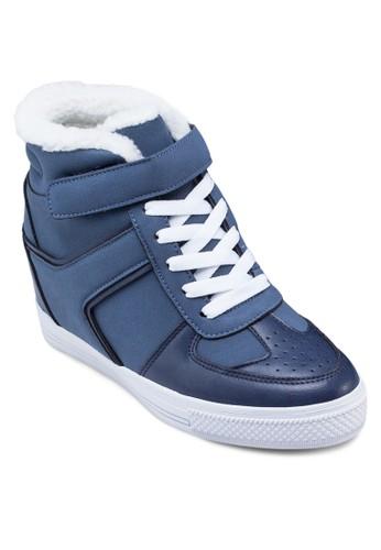 內增高zalora 台灣高筒運動鞋, 女鞋, 鞋