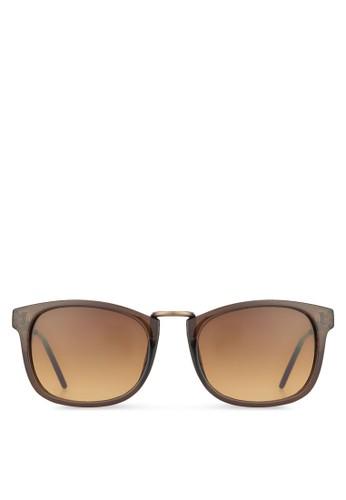 Coreyzalora鞋子評價 2.0 方框太陽眼鏡, 飾品配件, 方框