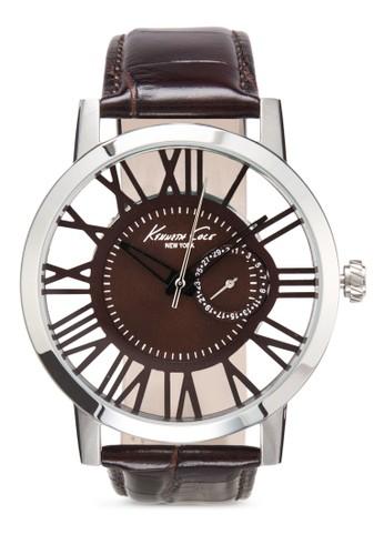 Kenneth Cole 10020811 手錶, 錶類, 皮zalora時尚購物網評價革錶帶