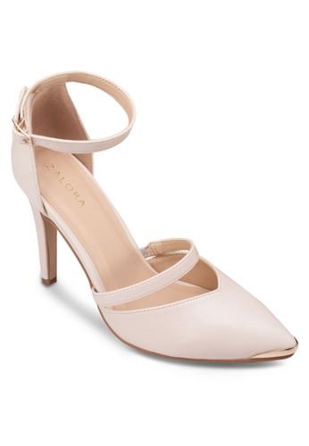 尖頭繞踝高跟鞋, 女鞋, 厚底高跟zalora鞋鞋