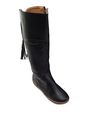 Ada 流蘇高筒靴, 女zalora 衣服尺寸鞋, 鞋