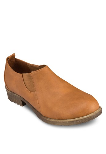 粗跟懶zalora鞋人踝靴, 女鞋, 鞋