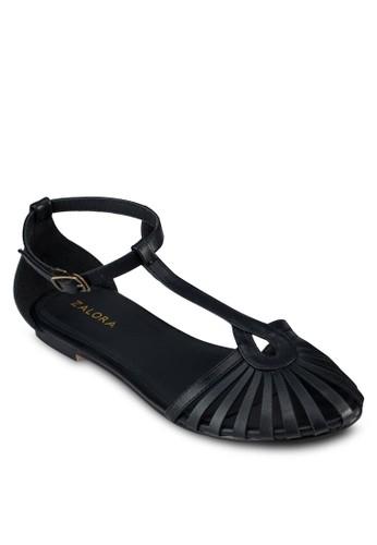 鏤空包頭繞環涼鞋, zalora 包包評價女鞋, 涼鞋