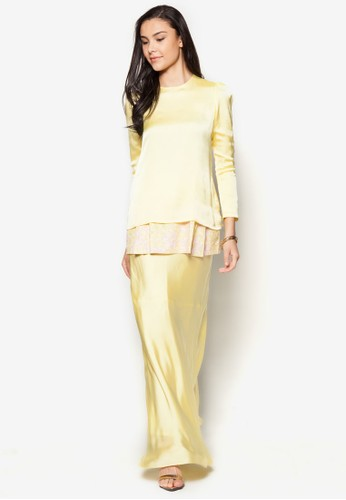 Tiffany Kurung from Najjah in Yellow
