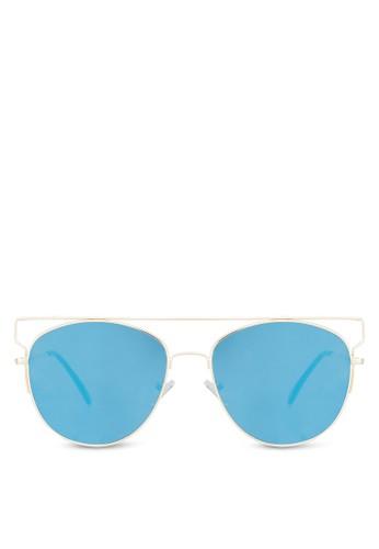 Mccooey 時尚太陽aldo taiwan眼鏡, 飾品配件, 飛行員框