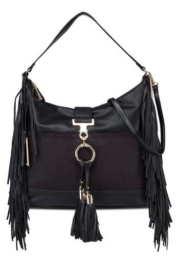 麂皮流蘇側背包, 包zalora 內衣, 飾品配件