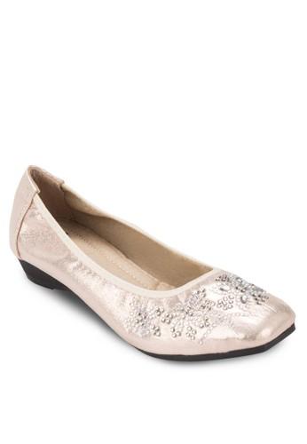 zalora 台灣閃飾娃娃鞋, 女鞋, 鞋