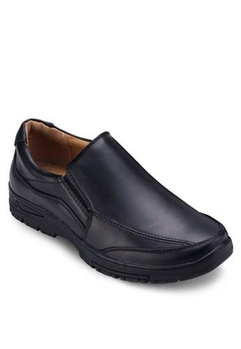 經典圓頭紳士皮鞋, 鞋zalora鞋, 皮鞋