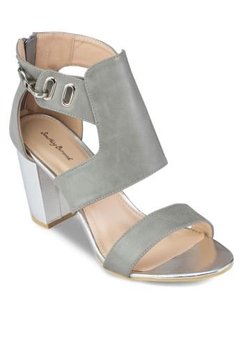 寬鞋舌高跟zalora 男鞋 評價涼鞋, 女鞋, 中跟