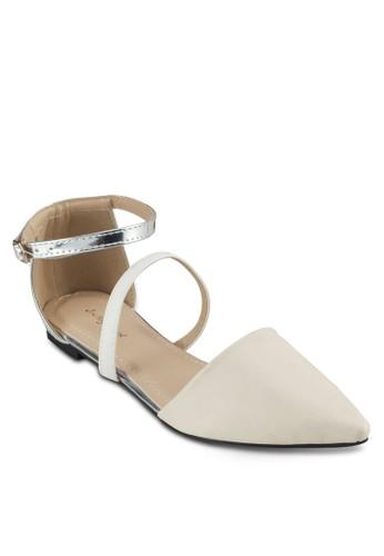 亮面包跟尖頭平底鞋, 女鞋,zalora 台灣 鞋