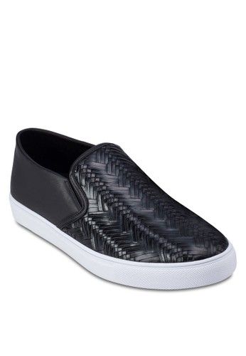 編zalora 衣服評價織壓花懶人休閒鞋, 鞋, 休閒鞋