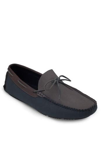 蝴蝶結仿皮樂福鞋zalora開箱, 鞋, 船型鞋