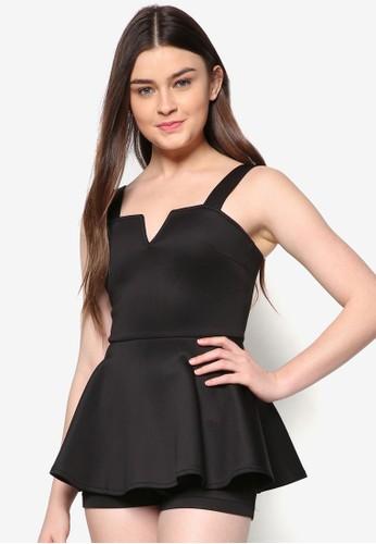 Lovezalora 包包 ptt 雙肩帶連身褲裙, 服飾, 連身褲