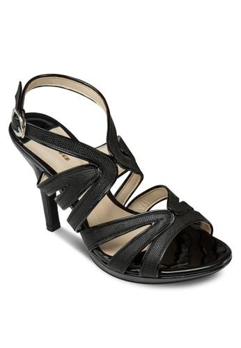 Utano 時尚踝帶高跟涼鞋, zalora 台灣女鞋, 高跟
