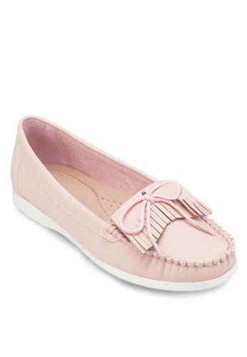 流蘇蝴zalora 鞋評價蝶結莫卡辛鞋, 女鞋, 船型鞋