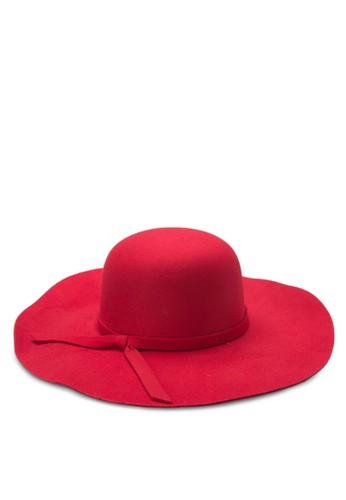 寬軟帽沿軟呢帽, 飾品配zalora退貨件, 爵士帽