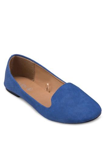 Sadie zalora 台灣暗紋樂福鞋, 女鞋, 鞋