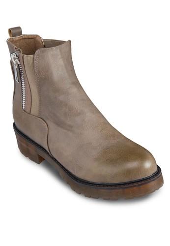 拉鍊踝靴zalora 鞋評價, 女鞋, 鞋